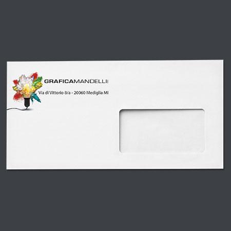 Buste a Milano. Grafica e stampa in offset, digitale, grande e piccolo formato
